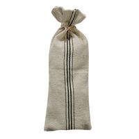 Grain Sack Wine Bottle Bag