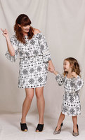 Mother - Daughter Matching Mandala Print Dresses