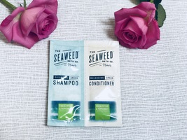 The Seaweed Bath Co. Eucalyptus & Peppermint Balancing Argan Shampoo and Conditioner