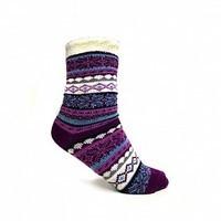 Cozy Lodge Double Layered Aloe Infused Socks