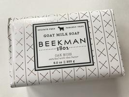 Beekman 1802 Goat Milk Soap Oak Moss Scent