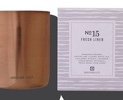 Anderson Lilley Sunset Collection Candle - Fresh Linen
