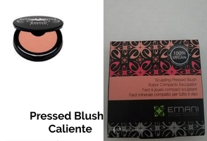 Emani Sculpting Pressed Blush in Caliente