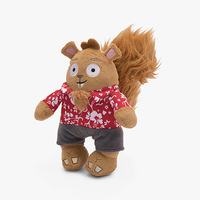 Seaside Cecile the Squirrel (Dog Toy)