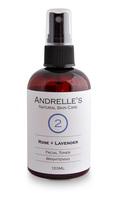 Andrelle's Natural Skin Care, Rose + Lavender Brightening Toner