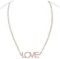 Maya Brenner Designs Love Bracelet - Rose Gold