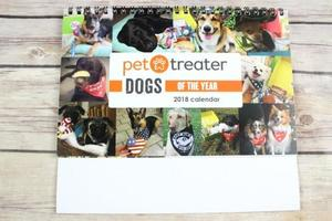 Pet Treater Dog Calendar 2018