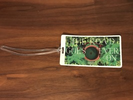 Lord of the Rings luggage tag