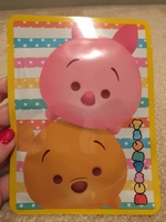 Pooh and Piglet Tsum Tsum face mask
