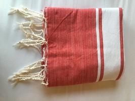 Fouta Beach Towel - Red