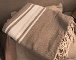 Fouta Beach Towel - Taupe