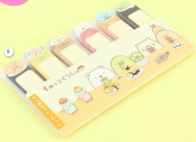 Sumikko Gurashi Sticky Note Bookmark Set