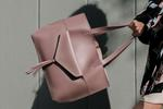 Summer & Rose Tote with Removable Clutch in Mauve