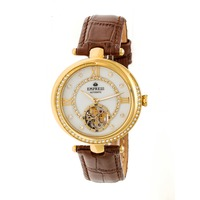 Empress Watch with Brown Band