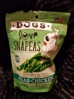 DOGS LOVE SNAPEAS