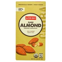 Alter Eco dark almond organic chocolate bar