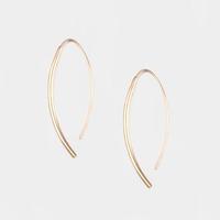 Soko Petite Bow Earrings in Silver
