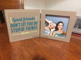 "New View Gifts ""Good Friends"" Hinged Frame"