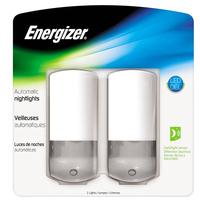 2 Pack of Energizer LED Slim Nighlights with Dark/Light Sensor
