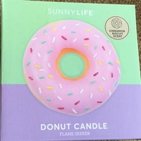 Sunny Life Donut Candle