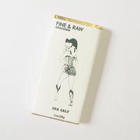 Fine & Raw Brooklyn Bonnie Sea Salt Chocolate, 1 oz.