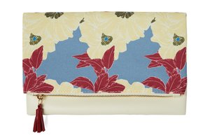 RACHEL PALLY REVERSIBLE CLUTCH-BLOOM