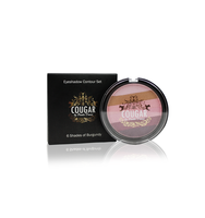 Cougar Beauty 6 Shades of Burgundy Eyeshadow Palette