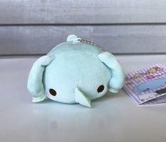 Elephant Mocchi-Zu Mascot Plush Keychain