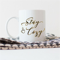 Stay cozy mug by Mugg'N Co