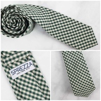 Sprezza Gingham Pattern Tie
