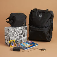 Black Panther carry-on and toiletries case