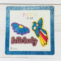 EXCLUSIVE Set of Three Adhesive Patches
