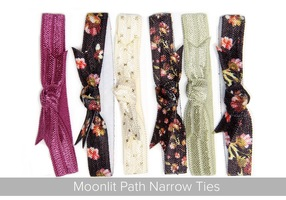 Banded Hairties in Moonlit Path