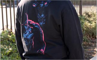 Black Panther Long Sleeve Tee