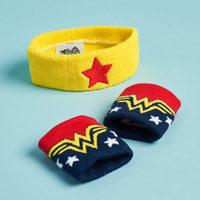 Wonder Woman Sweatband Set