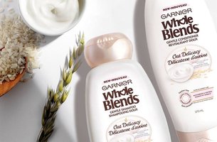Garnier Whole Blends Oat Delicacy Shampoo and Conditioner