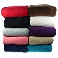 "60"" by 80"" Extra Soft Fleece Throw by Coral"
