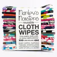 Marleys Monsters Reusable Cloth Wipes