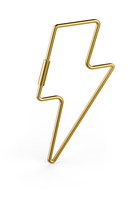 Fred & Friends Lightning Bolt Key Ring