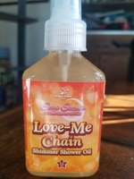 Fortune cookie soap love me shimmer shower oil