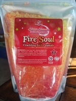 Fortune cookie soap fire soul crackling bath crystals