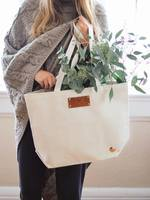 Harriet Tote In Natural by Eye Heart World