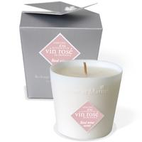 Rose et Marius Vin Rose Candle