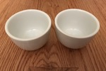Sundae Home White Tea Cups