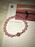 Love Yourself heart bracelet