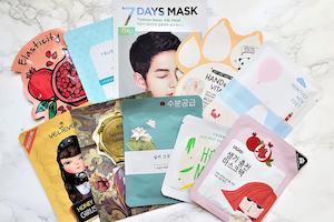 Assortment of masks