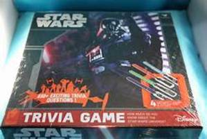 DISNEY STAR WARS TRIVIA GAME
