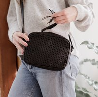 Summer and Rose crossbody bag - Delilah in black