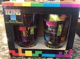 Tetris 16 oz glasses