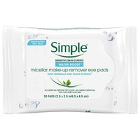 Simple Micellar Eye Makeup Remover Pads
